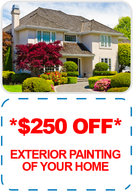 *$250 OFF* - Exterior Painting of your Home